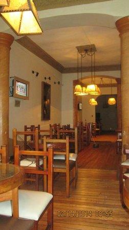 Casa Prado Suites Hotel: sector comedor