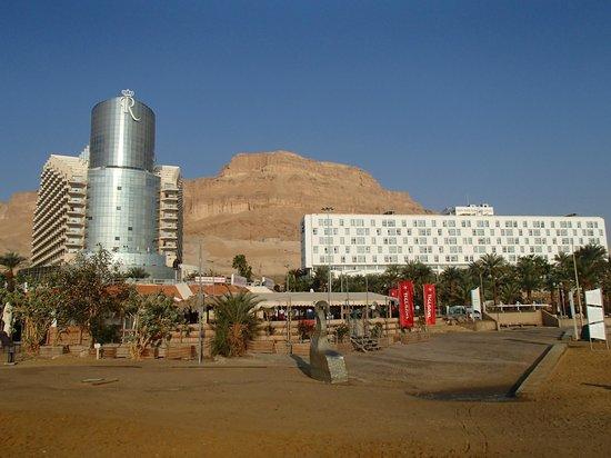 Isrotel Dead Sea Hotel & Spa: вид на отель