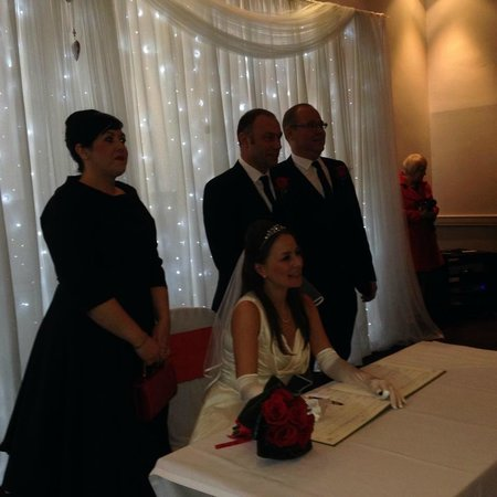 Denham Grove: Our Magical Wedding Service