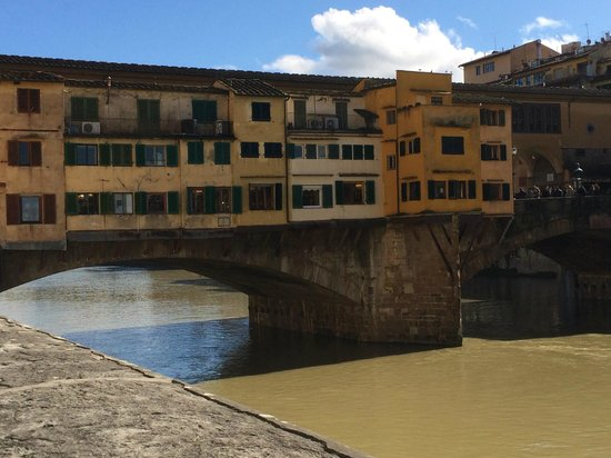 Ponte vecchio da vicino