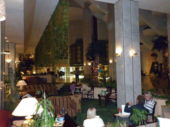 LTI - Pyramisa Isis Island Resort & Spa : Superbe Hall d'entrée