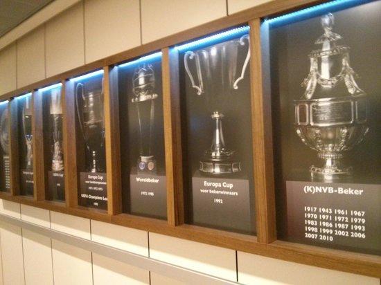 Amsterdam ArenA: les trophées
