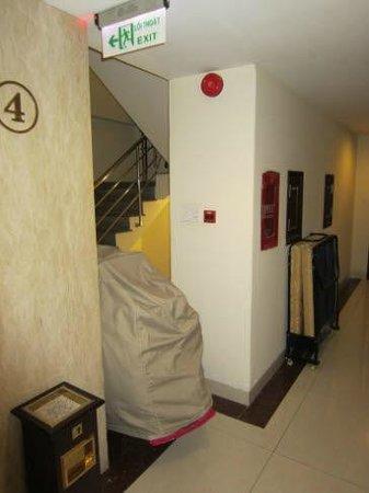 Alagon Western Hotel: Fluchtweg