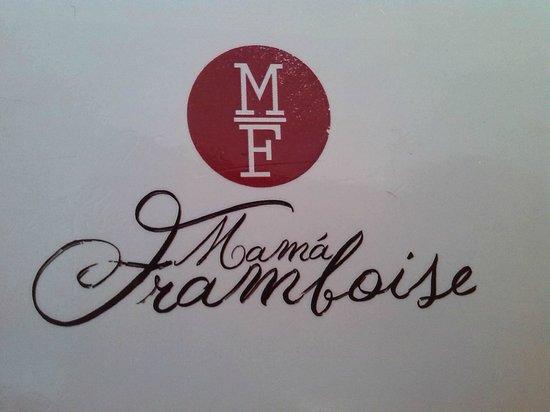 Mama Framboise: Logotipo café