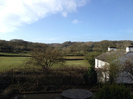 Brown Horse Inn: view from room