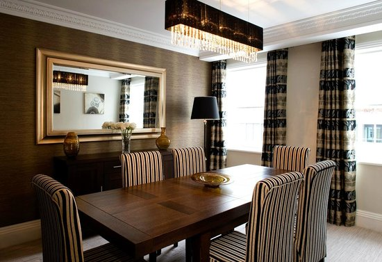 Beaufort House: All our apartments have a dining area that can also be utilised to arrange board meetings.