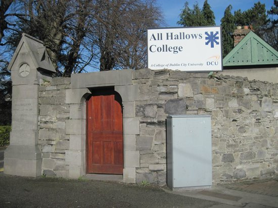 Purcell House, All Hallows College, Conference Centre: Entry to the grounds