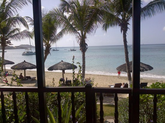 Tamarind Beach Hotel & Yacht Club: from first floor room