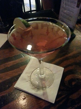 Tropicana Atlantic City : Giant Martini at FireWaters $10 but only $5 with Trop Coupon