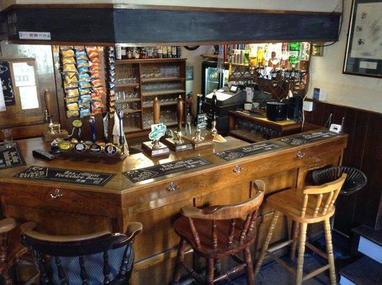 The Black Bull: Bar Area