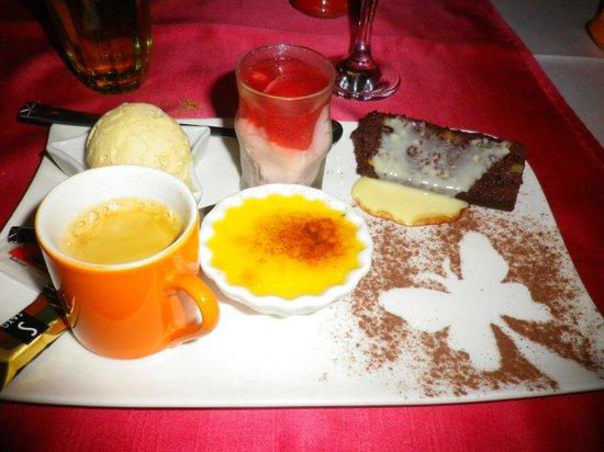 Restaurant 1643: café gourmand