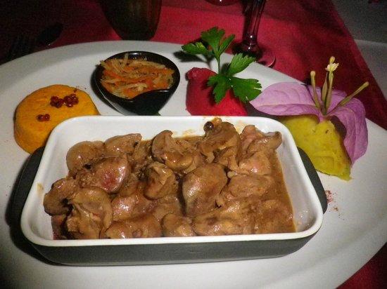Restaurant 1643: rognons de veau