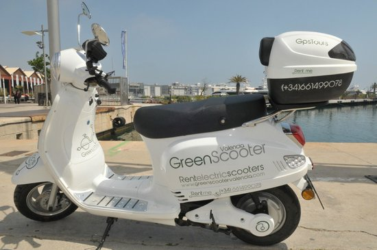 Green Scooter Valencia