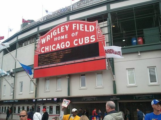 Famous Wrigley Field Sign