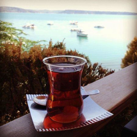 Blue Istanbul Hotel: Lovely Turkish tea