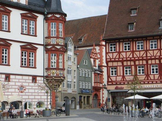 Coburg, Deutschland: площадь