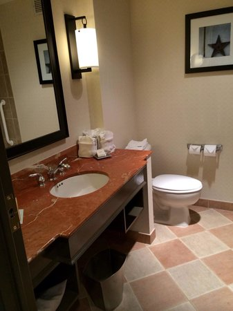 Hilton Dallas Park Cities : Bathroom