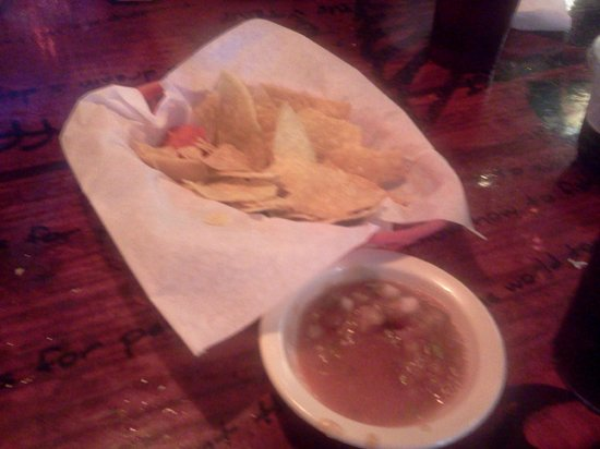 Taco Surf chips and salsa, THE BEST!