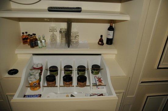 Le Meurice : Minibar!