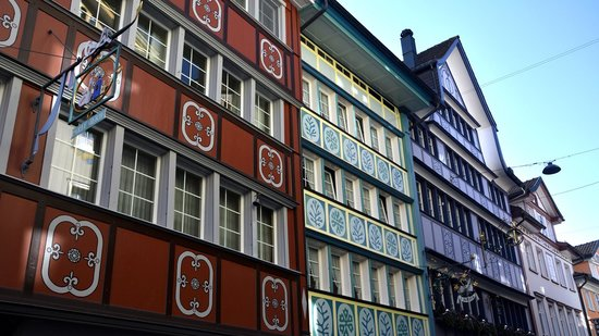 Hotel Roessli : Colourful Appenzell