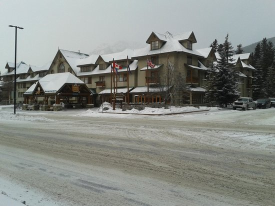 Banff Caribou Lodge & Spa: Hotelansicht