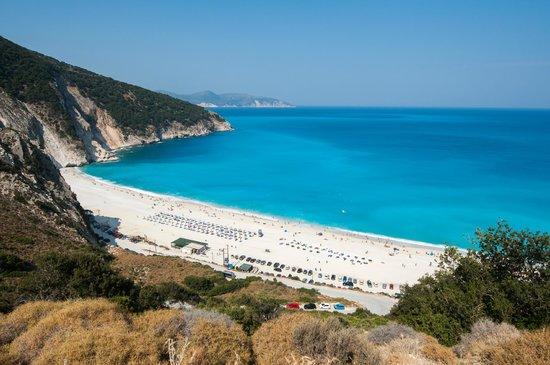 Myrtos Beach Mytros Kefalonia