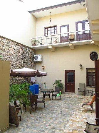 Casa Sucre Boutique Hotel : Inner courtyard