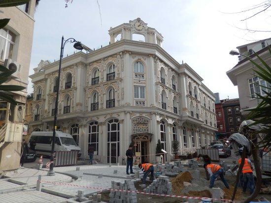Albatros Premier Hotel: Подходы к отелю