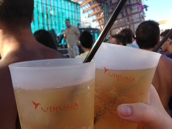 Ushuaia Ibiza Beach Club: Main stage
