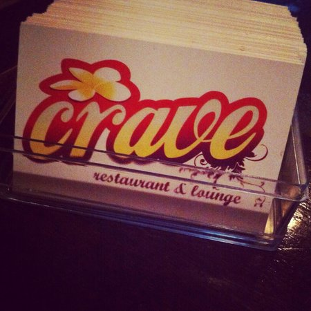 Crave Restaurant & Lounge: Your gonna love this place...x