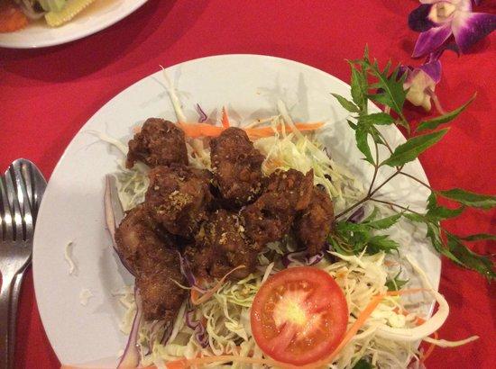 Garland Samui: Deep fried garlic and pepper spare ribs