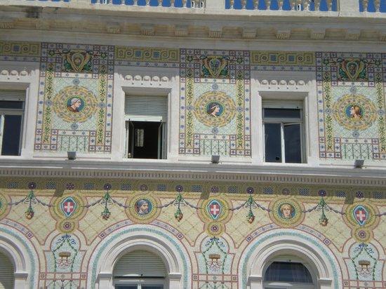 Citta Vecchia (Old City): Facciata di palazzo d'epoca