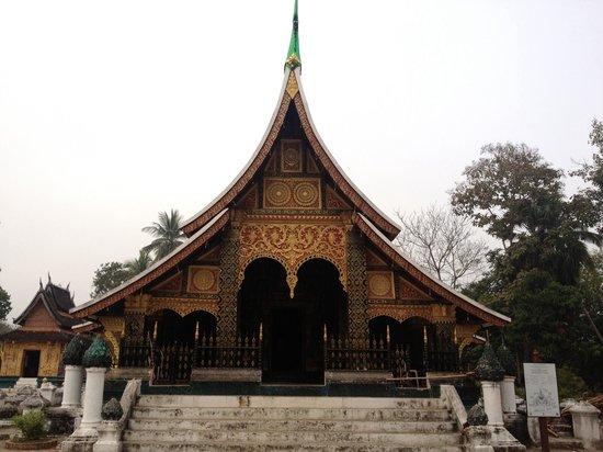 Vat Xienthong (Wat Xieng Thong): หน้าวัดเซียงทอง