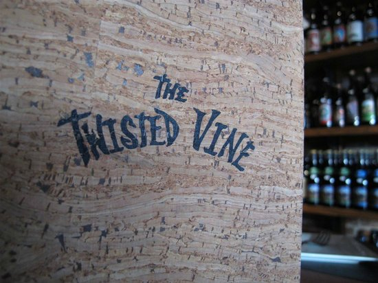 The Twisted Vine: Menu