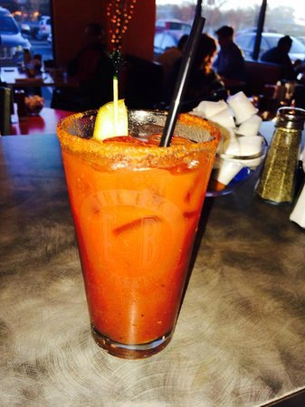 Best Bloody Mary's around! - Picture of The Egg Bistro, Suffolk ...