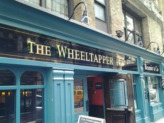 The Wheeltapper: Outside entrance