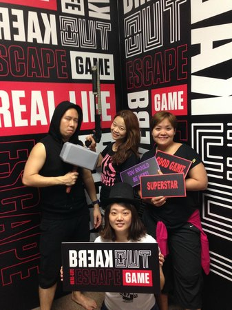 BreakOut Games: Having a good time!