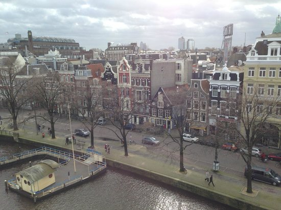 De L'Europe Amsterdam: View from a window in suite 428 (fourth floor)