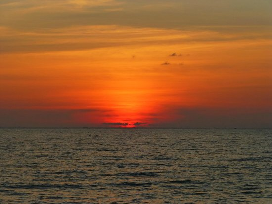Ngapali Beach : Another lovely sunset