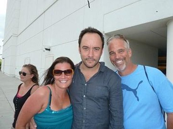 Heather & Doug with Dave Matthews - Picture of The Egg Bistro ...