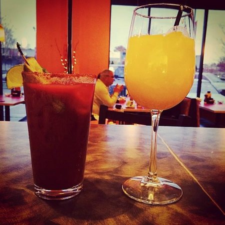 Bloody Mary & Mimosa - Picture of The Egg Bistro, Suffolk ...