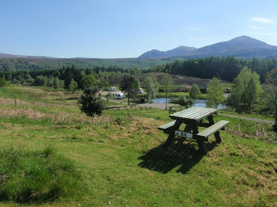 Faichemard Farm Campsite: View from an individual tent pitch