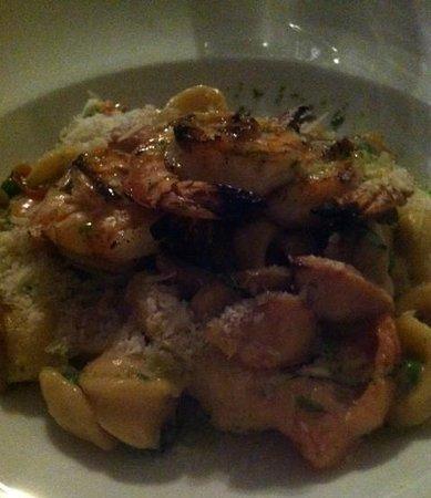 Cru Cafe: Grilled Basil Marinated Shrimp