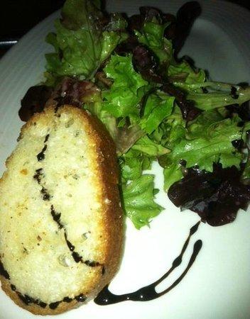 Cru Cafe : Mesclun Fried Goat Cheese