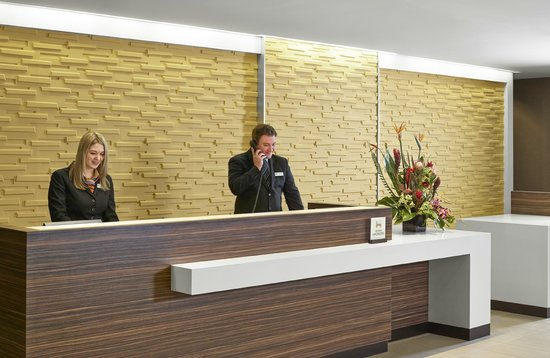 People managing the front desk