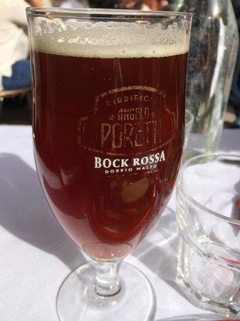 'Gusto: birra poretti rossa