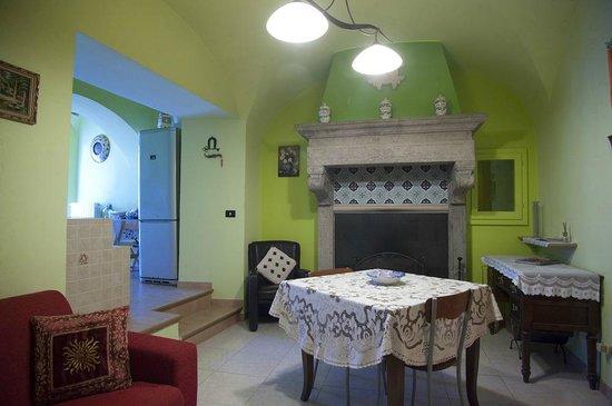 Bed and Breakfast Casa Brenna: Soggiorno.