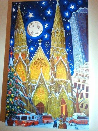 Hotel Les Sables d'Or: Les Sables d'Or: j'adore ce tableau!   :-)
