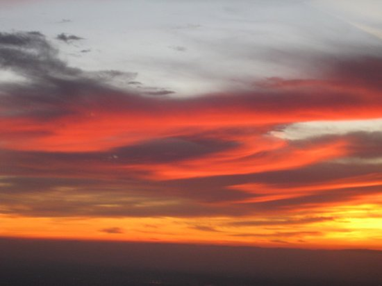 Airport Inn: Sunset near Mariposa Airport