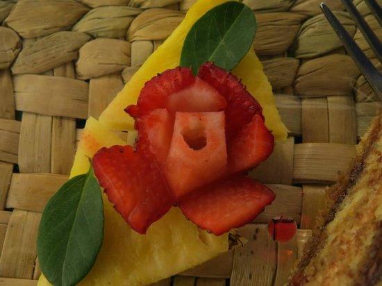 Puerto Lago : Adorno del postre